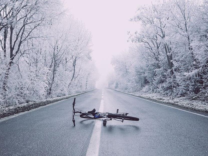 porzucony rower