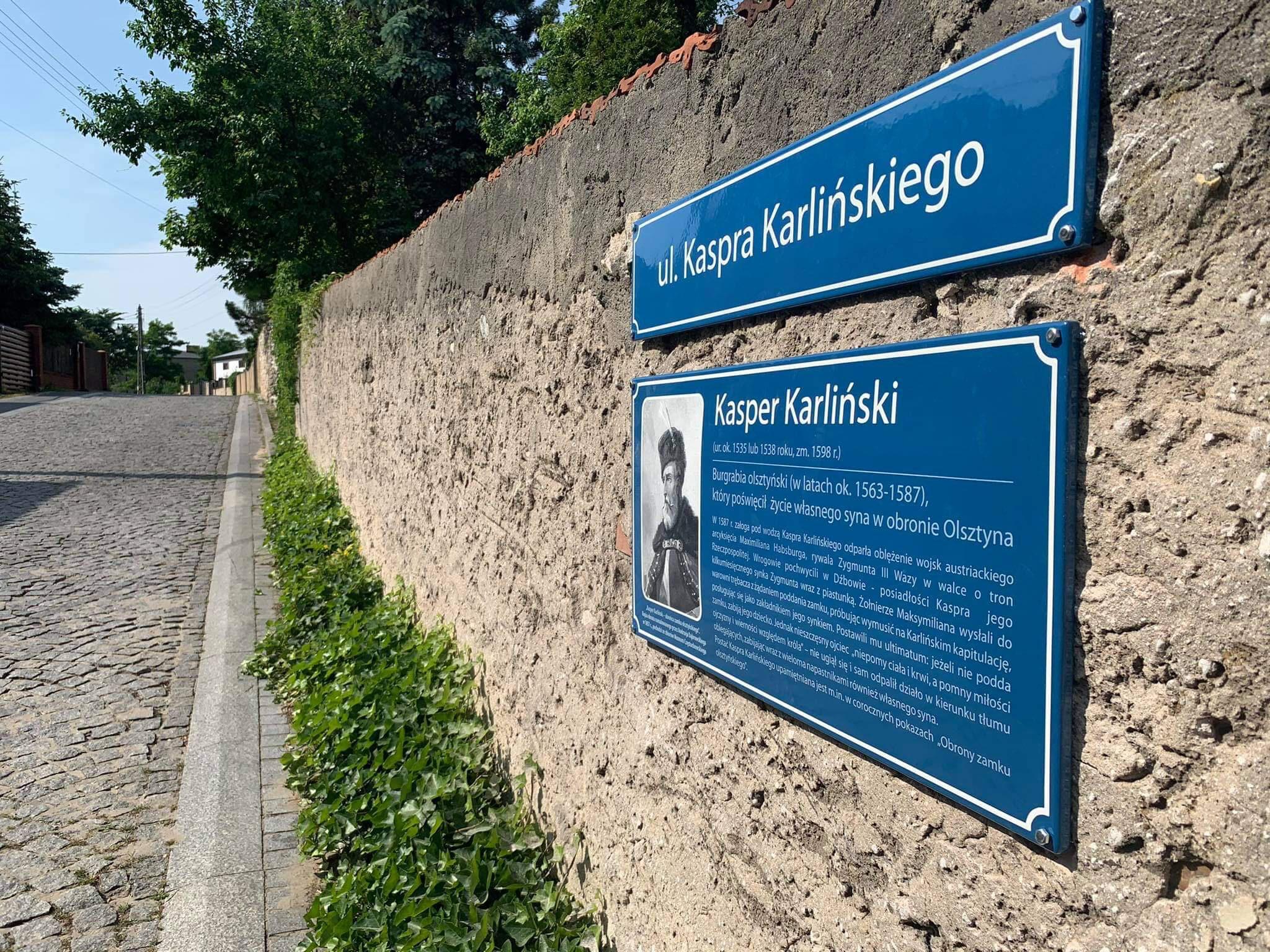 tablica Kaspra Karlińskiego