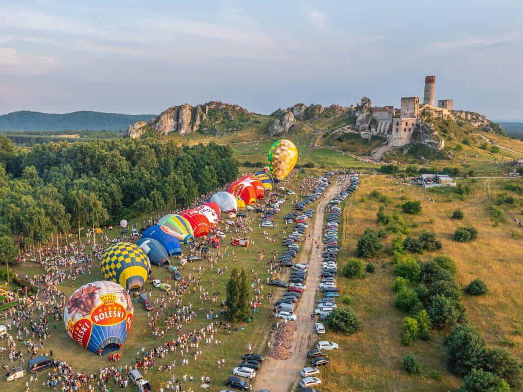 balony stratują